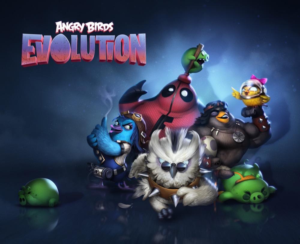 Angry Birds Evolution iphonejpg
