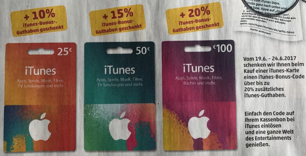 Penny iTunes Karten