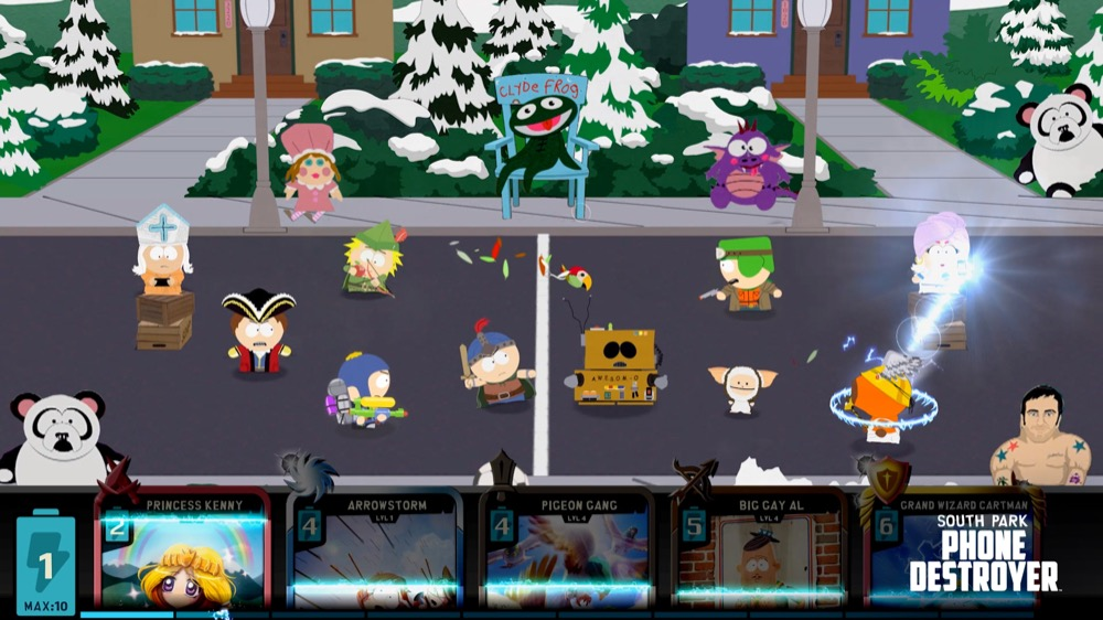 South Park Phone Destroyer gameplay