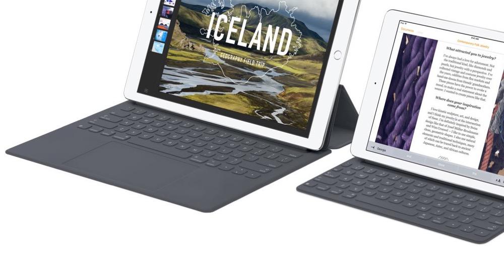 iPad Pro Trackpad Tastatur