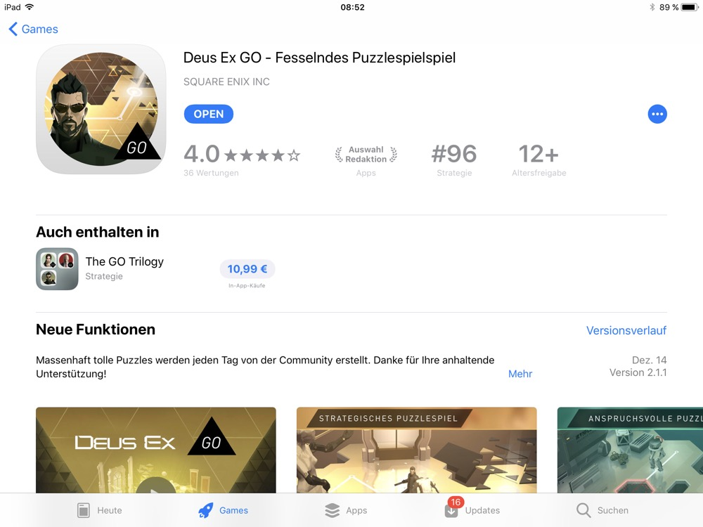 ios 11 app store detail