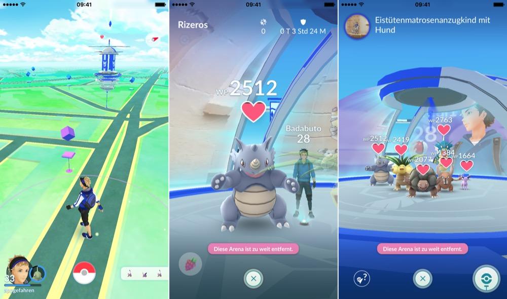 Pokémon Go Guide Die Neuen Arenaorden Raid Kämpfe Und Münzen