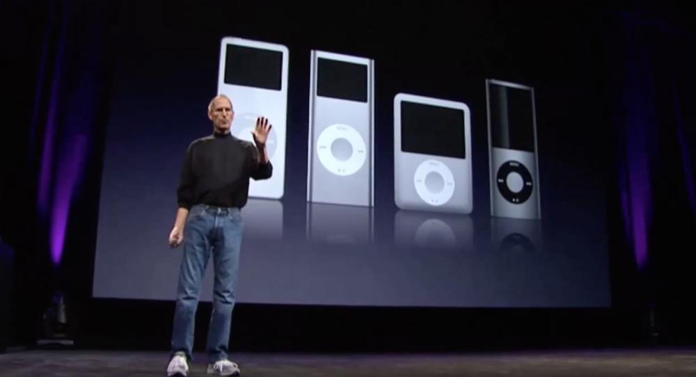 Steve Jobs iPod Keynote