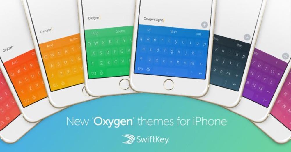 SwiftKey Oxygen Themes