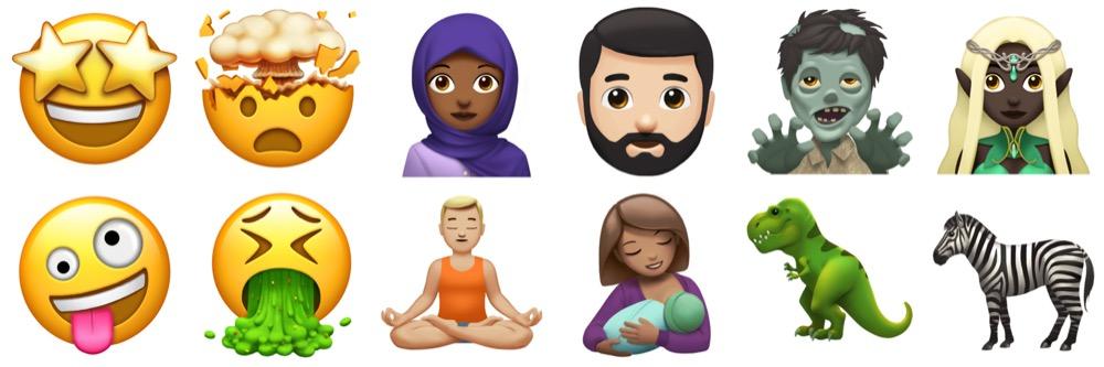 emoji update iphone