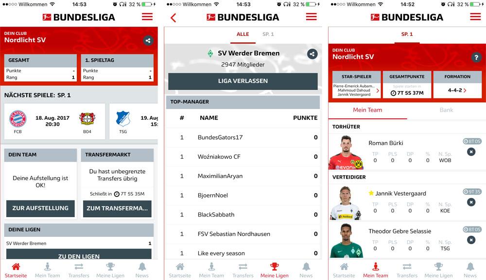 Bundesliga Fantasy Manager