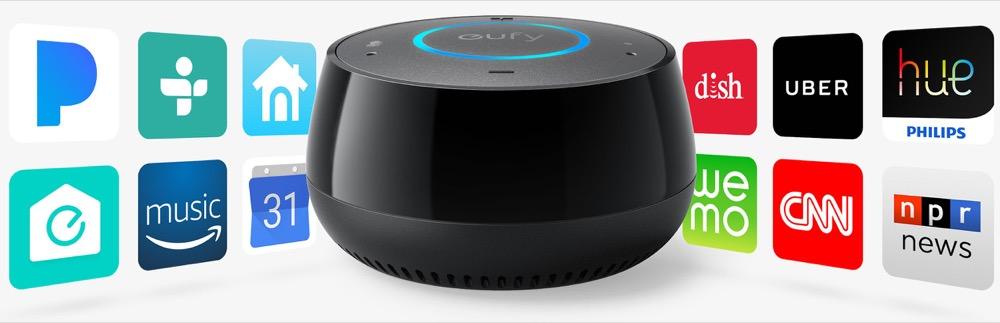 eufy genie ist ein g nstiger echo dot mit alexa von anker. Black Bedroom Furniture Sets. Home Design Ideas