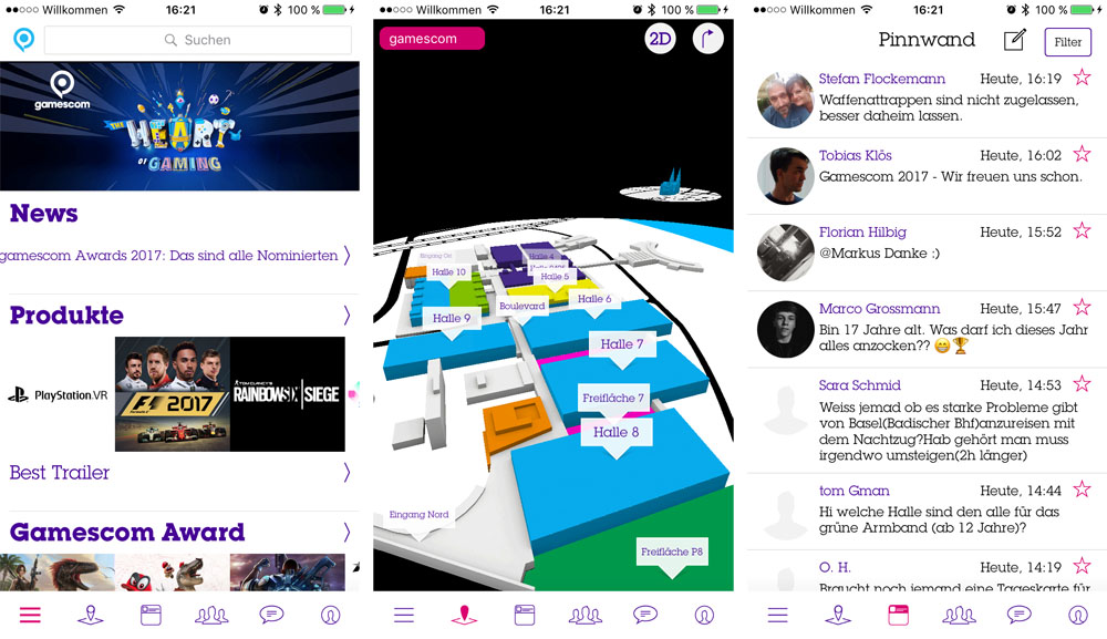 Gamescom App 2017