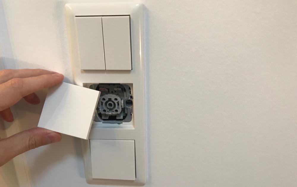 anleitung hue tap technik in gira lichtschalter einbauen. Black Bedroom Furniture Sets. Home Design Ideas