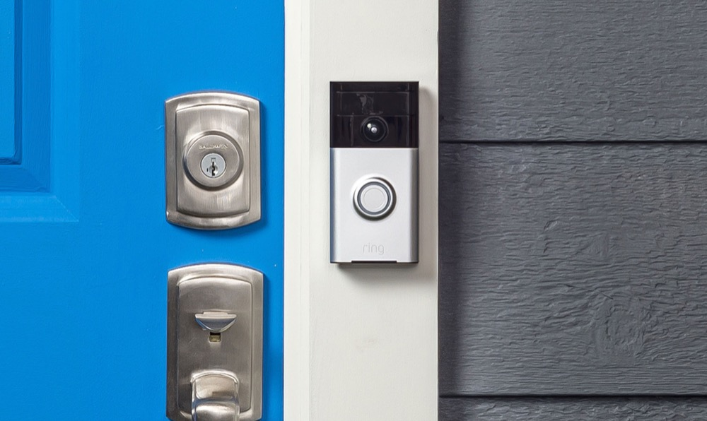Ring Video Doorbell montiert