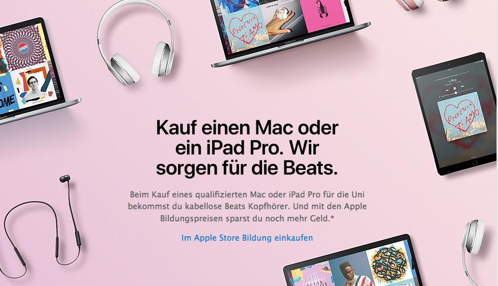 bildungspreise für ipad und mac