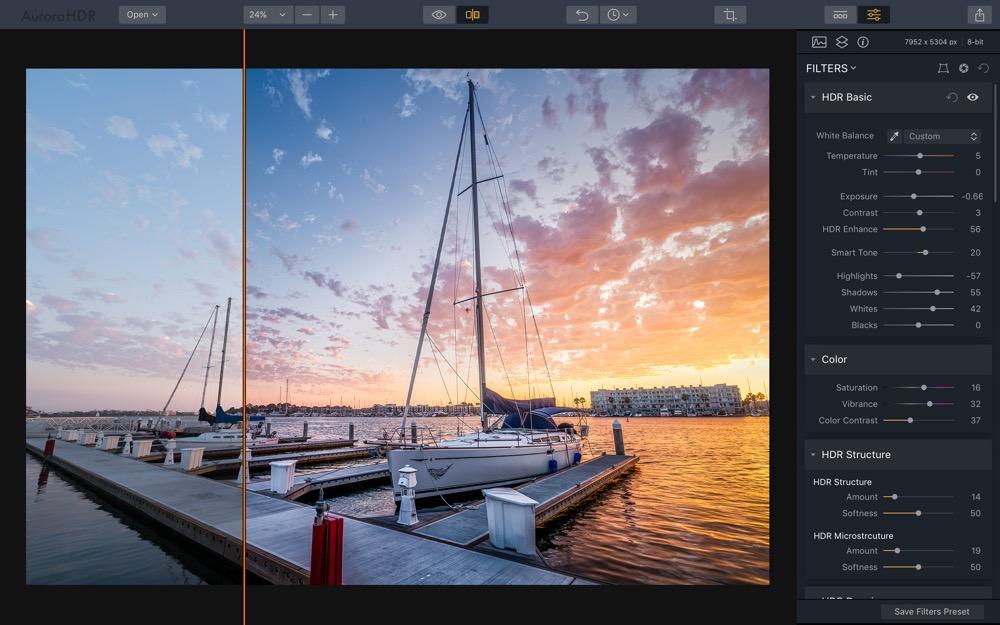 Aurora HDR 2018 Mac 1