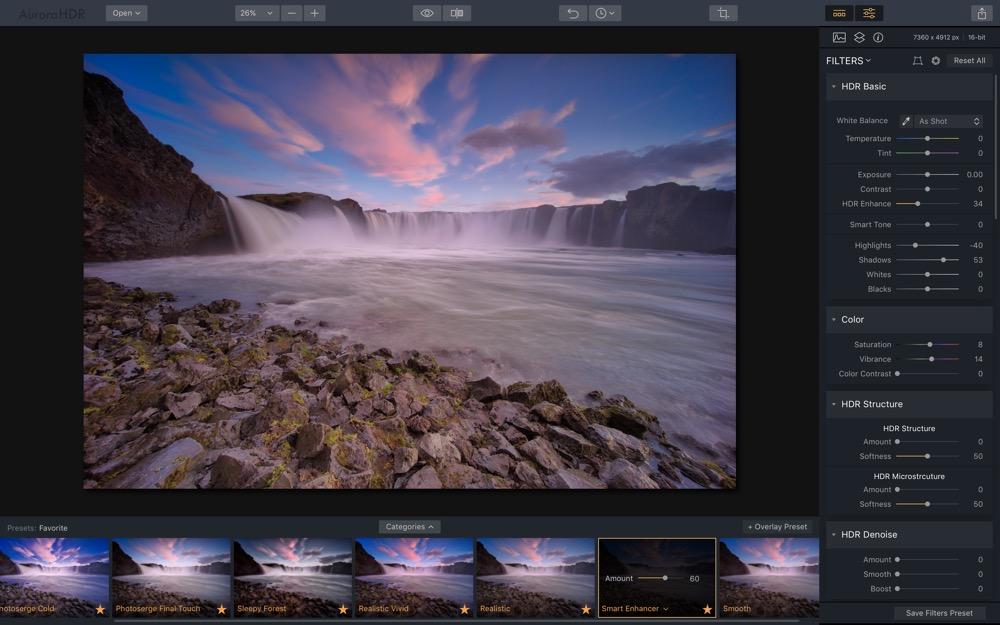 Aurora HDR 2018 Mac 2