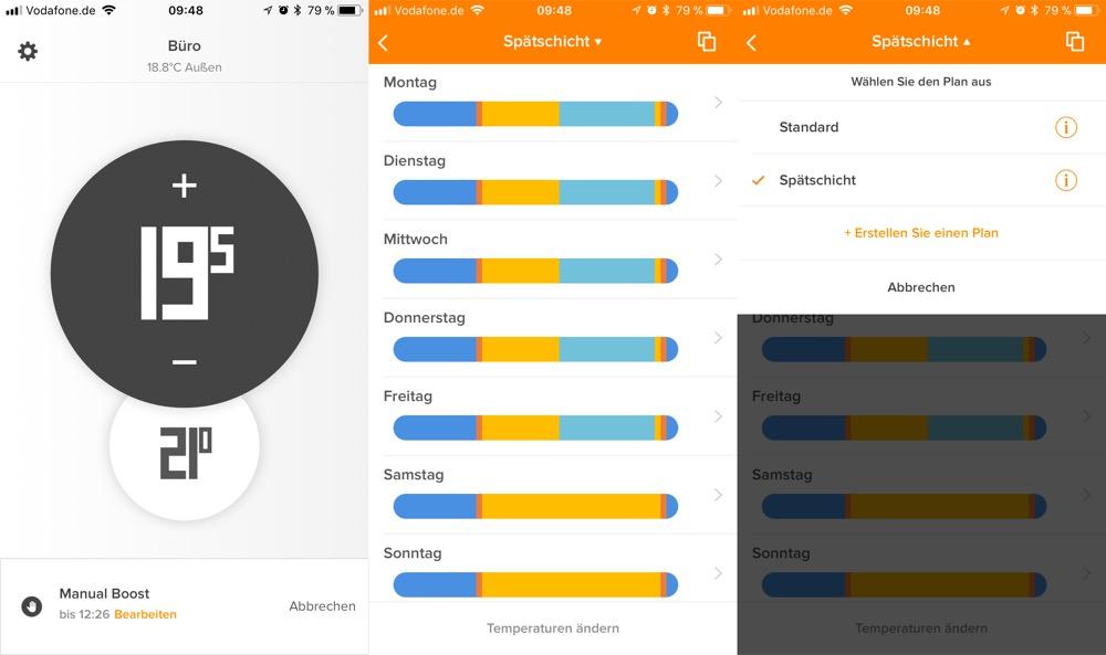 Netatmo Thermostat App