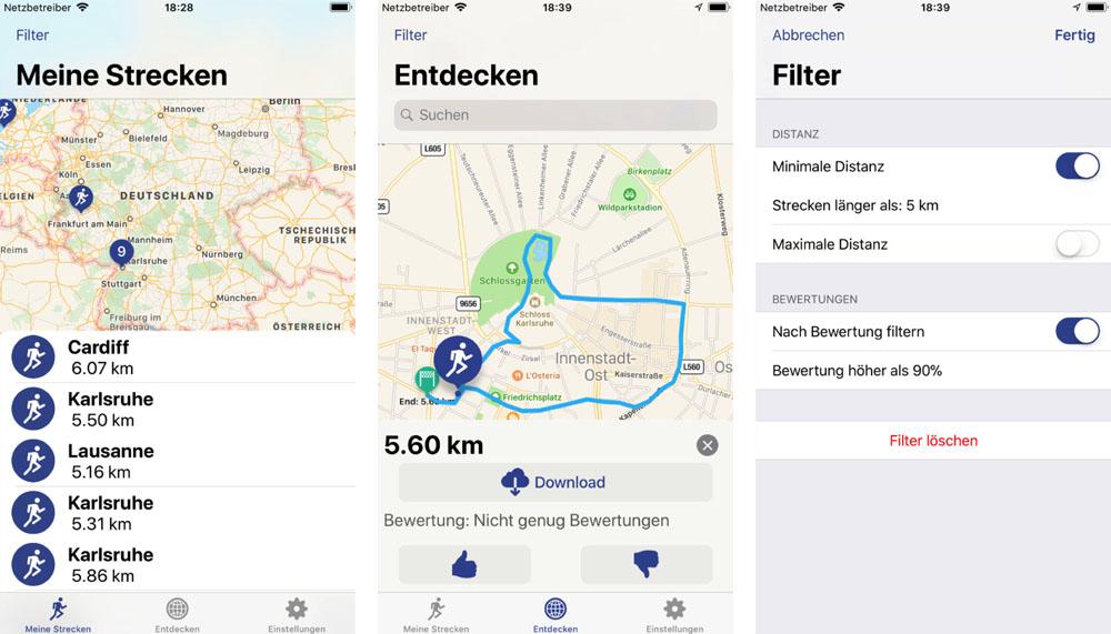 Runners Map