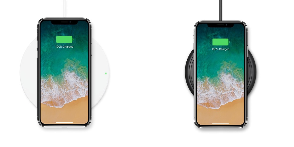 qi charge iphone x belkin mophie