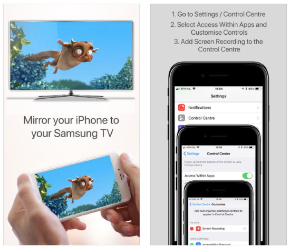 Airbeam iOS
