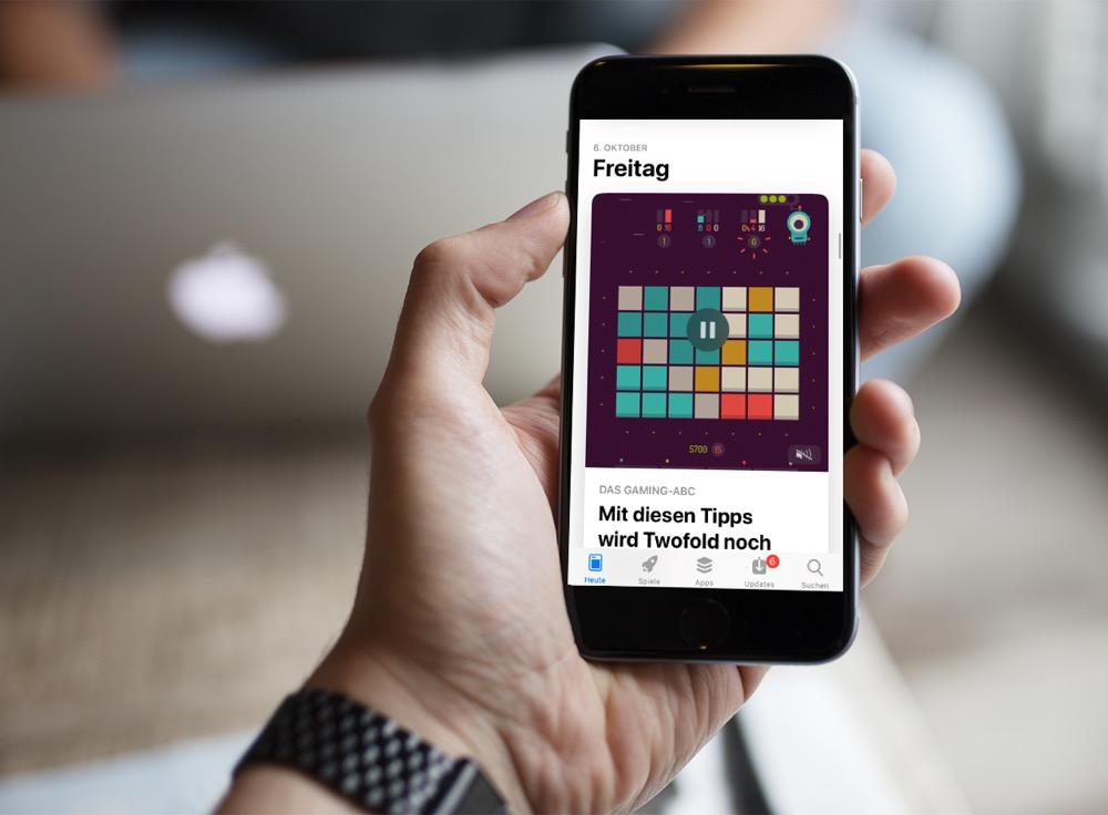 App Store automatische Wiedergabe