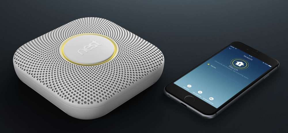 Nest Protect Rauchmelder iPhone