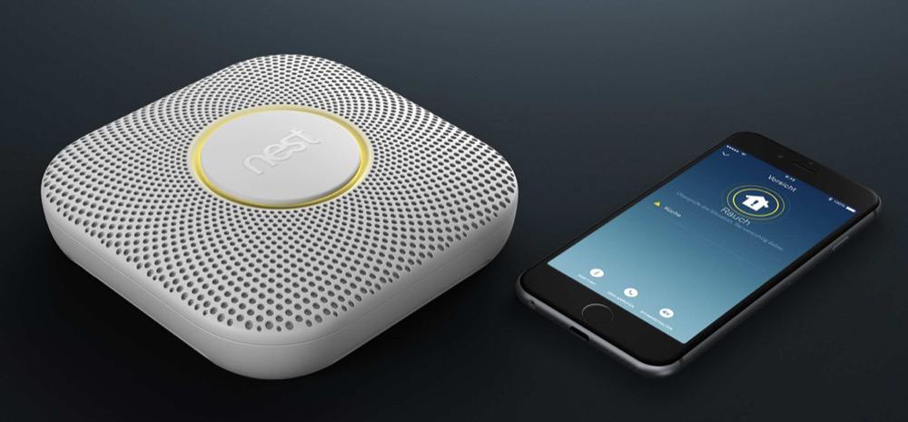 Nest Protect Rauchmelder iPhone