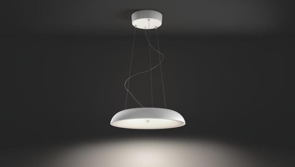 philips hue amaze pendelleuchte im test. Black Bedroom Furniture Sets. Home Design Ideas