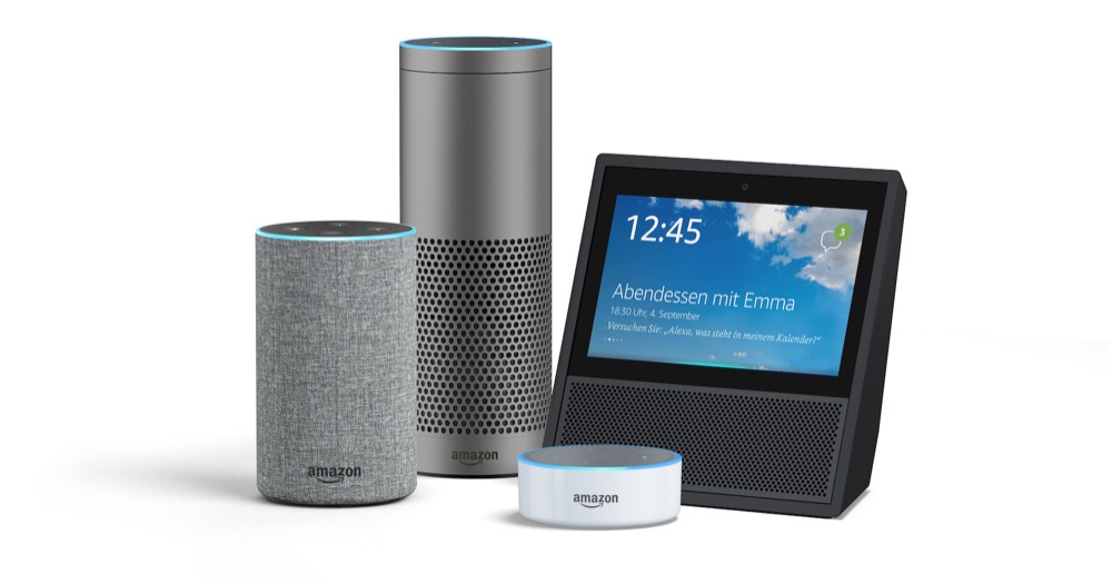 amazon echo famaily