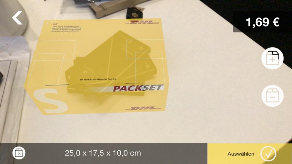 dhl packset