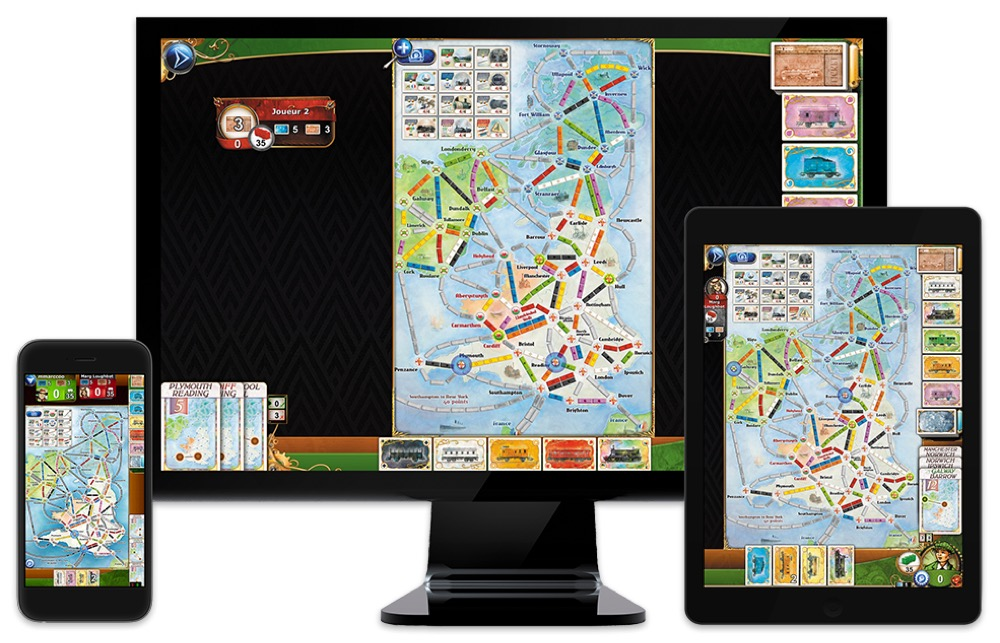 Ticket to Ride Great Britain