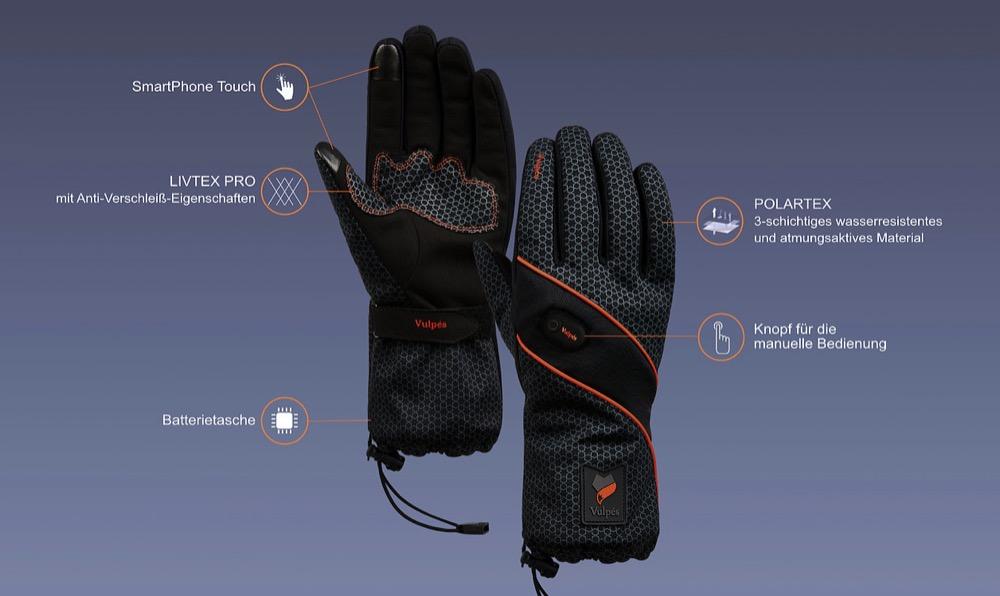 Vulpes Moontouch Handschuhe