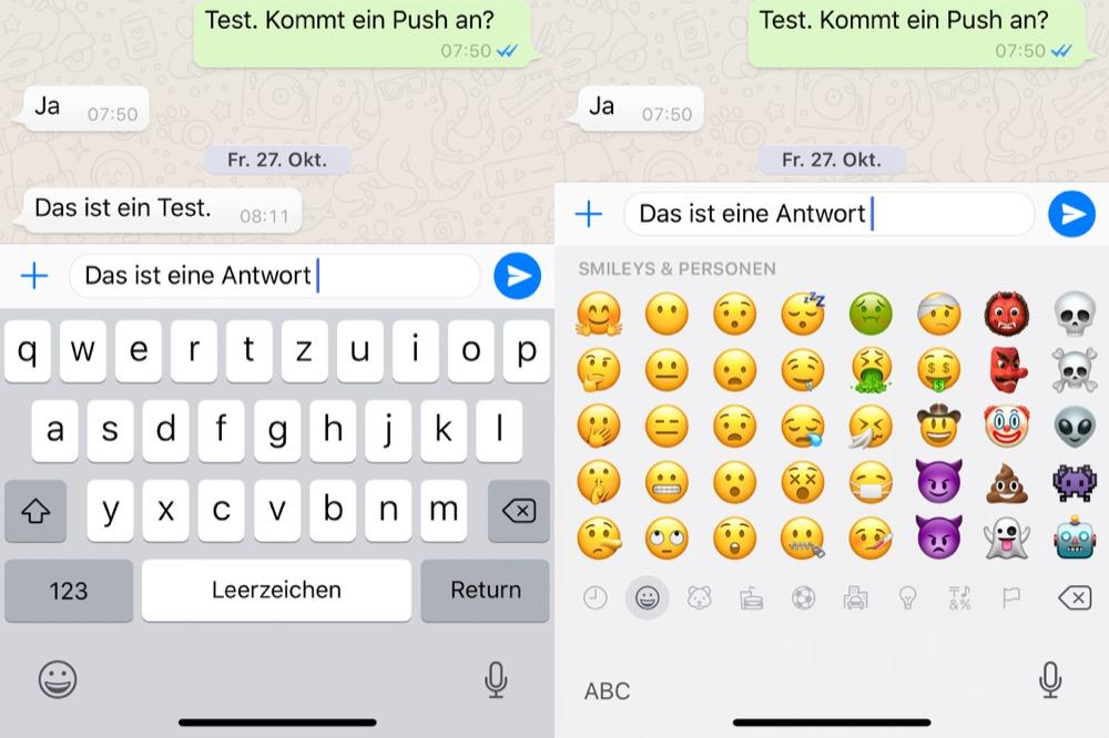Emoji Tastatur