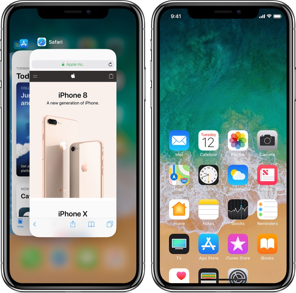 iphone x seitentaste