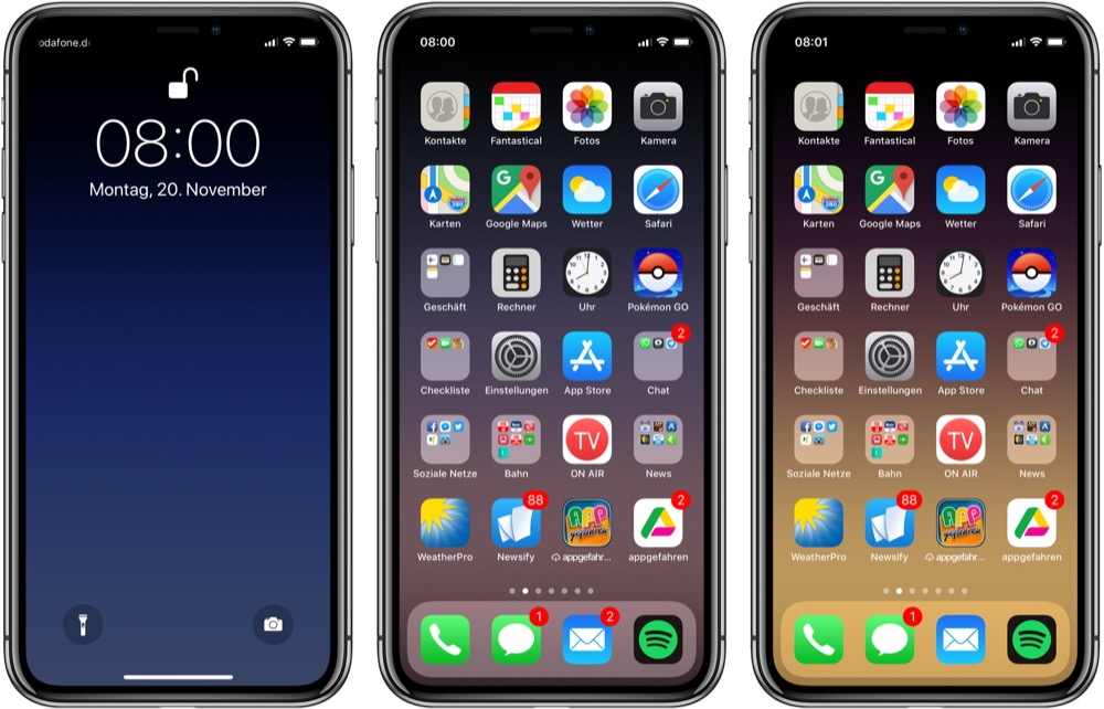 Iphone X Notch Mit Wallpaper Verstecken