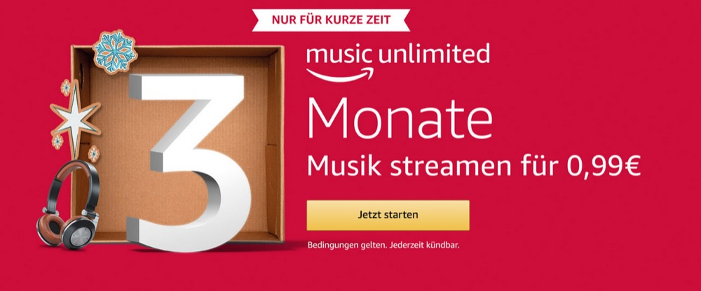 Amazon Music Angebot