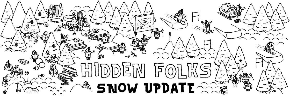 Hidden Folks Snow Update