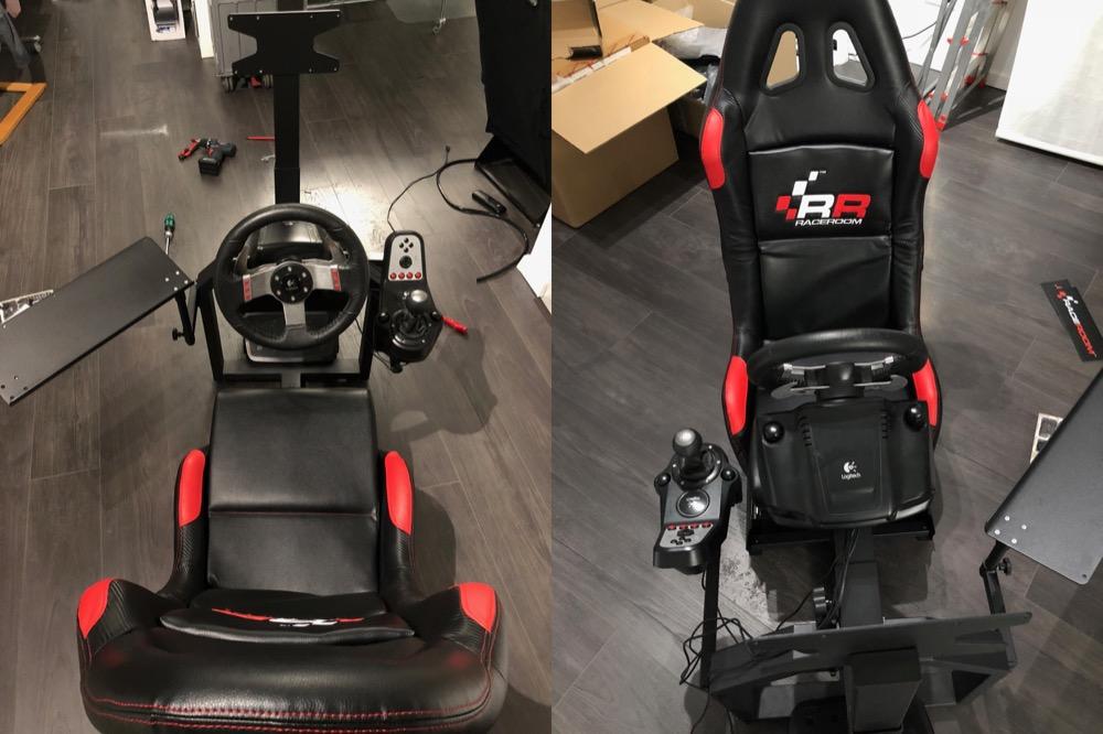 RaceRoom Game Seat