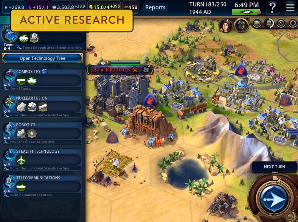 Sid Meiers Civilization VI ipad