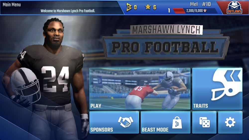 Marshawn Lynch Pro Football 2