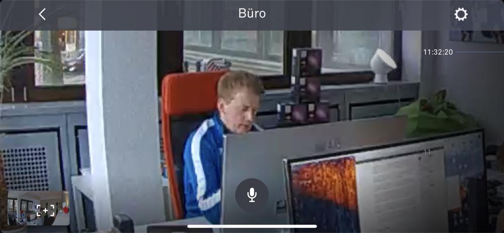 Nest Cam IQ Live View