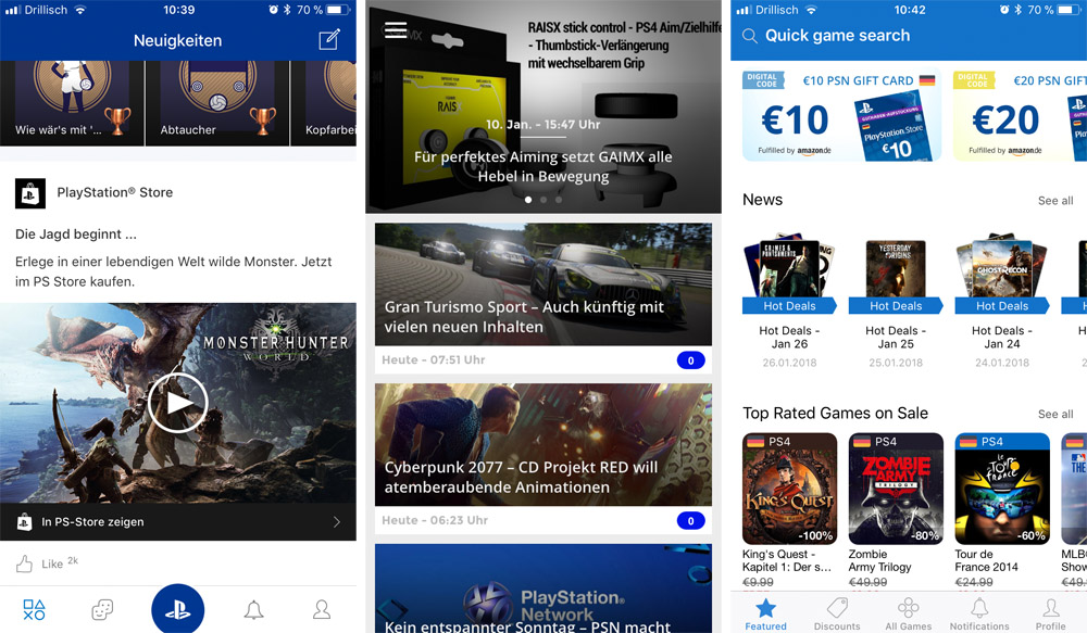 PlayStation Apps