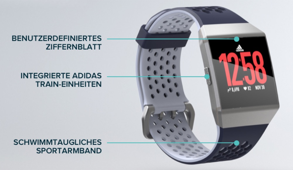 Fitbit Ionic Adidas Edition 1