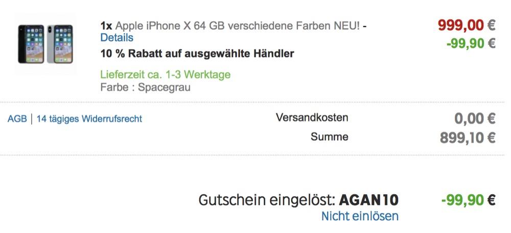 Gutschein iPhone