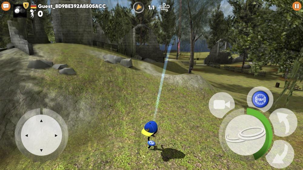 Stickman Disc Golf Battle 2