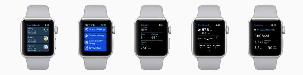 apple watch ski apps
