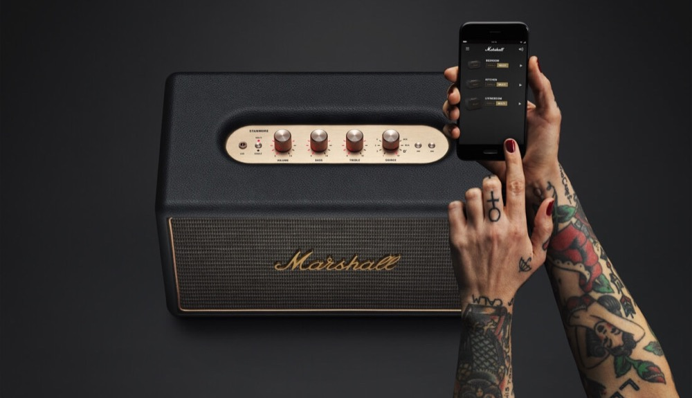 marshall stanmore ios