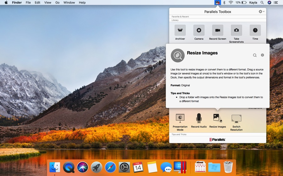 parallels toolbox mac update