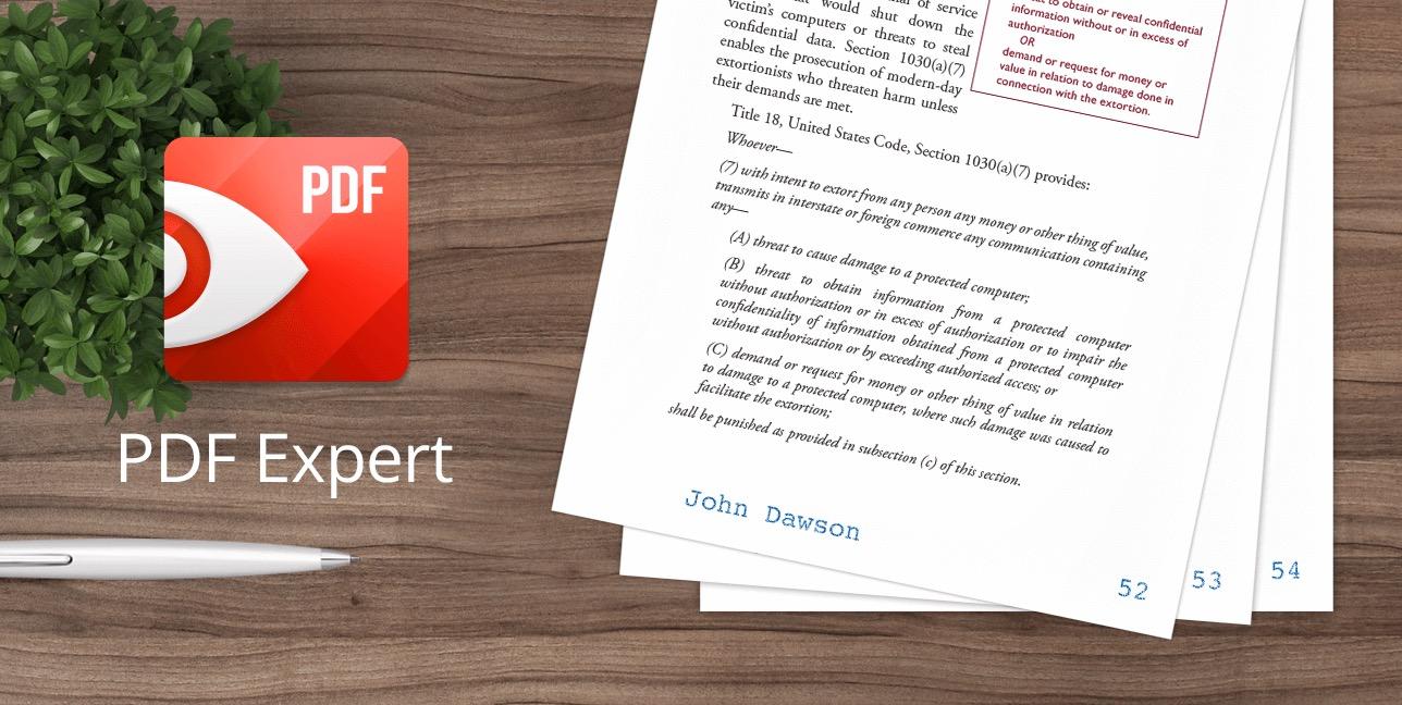 pdf expert seitenzahl