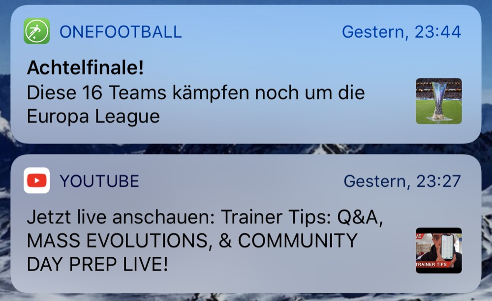 rich notifications