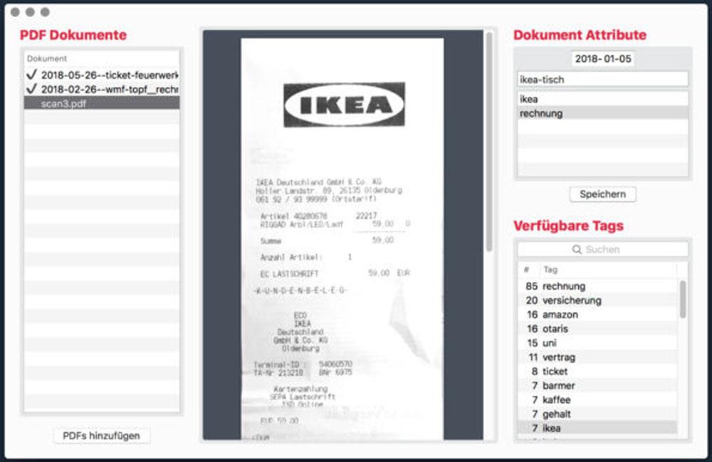 PDF Archiver Mac