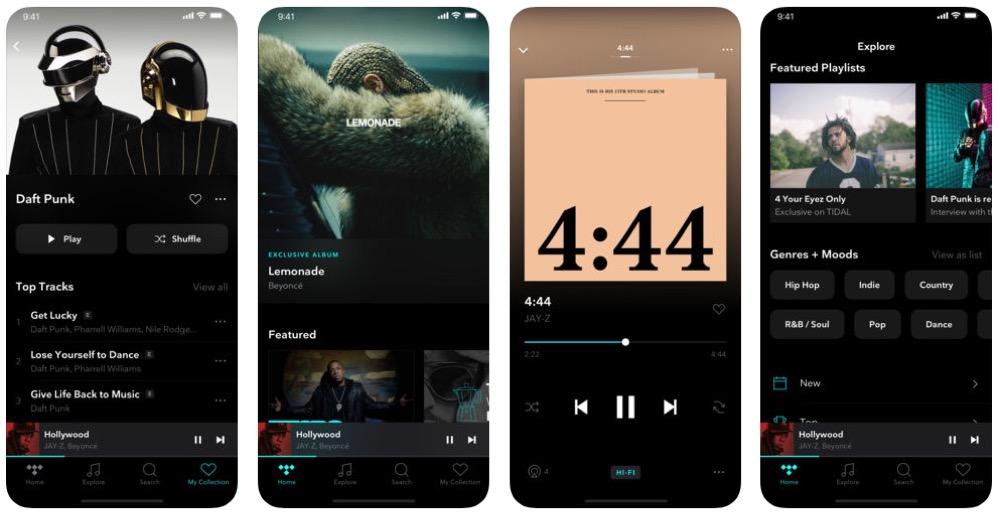 Tidal: Musikstücke können auf dem iPhone jetzt in Master