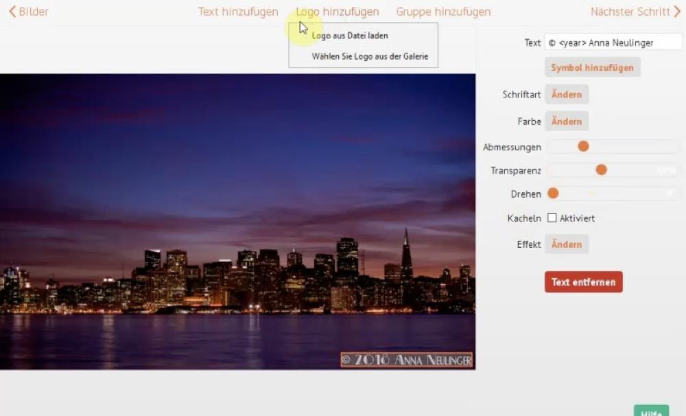 Visual Watermark Mac